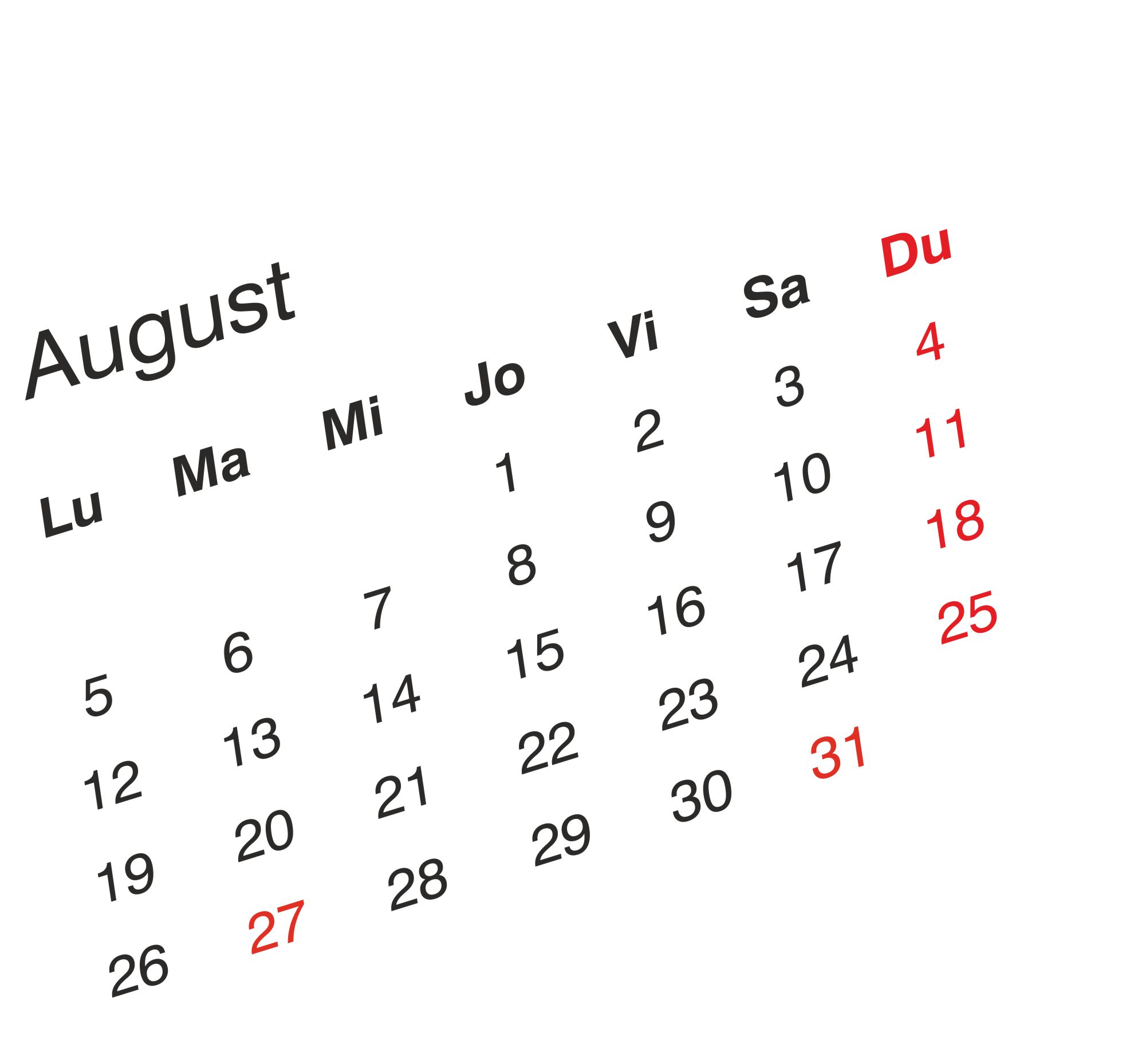 Programul de lucru al magazinelor pentru sarbatorile din   27 si 31 august.