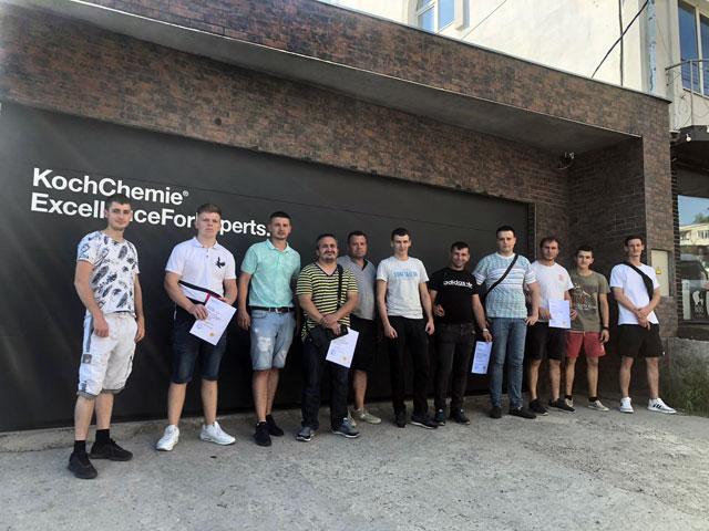 """2-х дневный семинар компании """"Koch-Chemie"""" в Кишиневе по профессиональным методам ухода за автомобилем."""